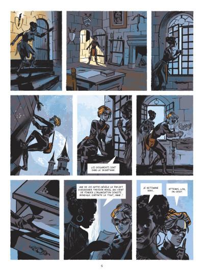 Page 3 Beauté noire et le groupe Prospero tome 1