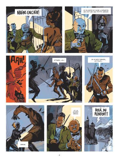 Page 4 Beauté noire et le groupe Prospero tome 1