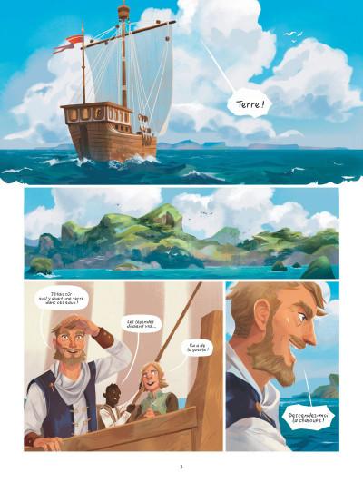 Page 1 Macha - Une histoire de l'île d'Errance