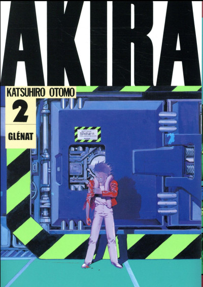 Couverture Akira en noir et blanc tome 2 - édition 2017