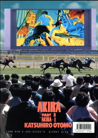 Dos Akira en noir et blanc tome 3 - édition 2018