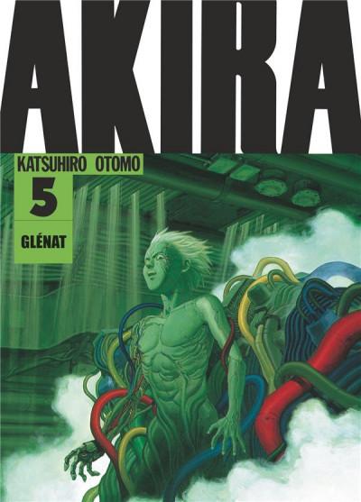Couverture Akira en noir et blanc tome 5 - édition 2019