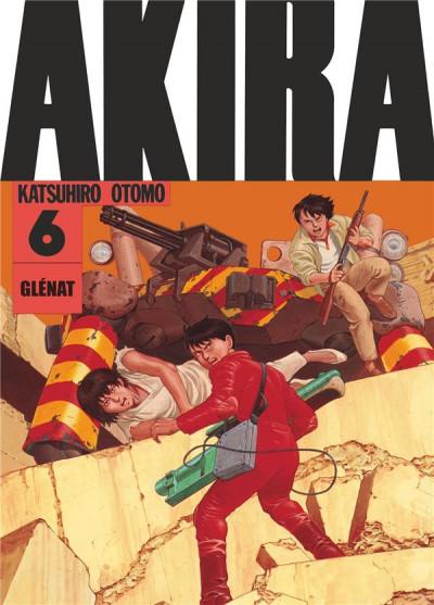 Couverture Akira en noir et blanc tome 6 - édition 2019