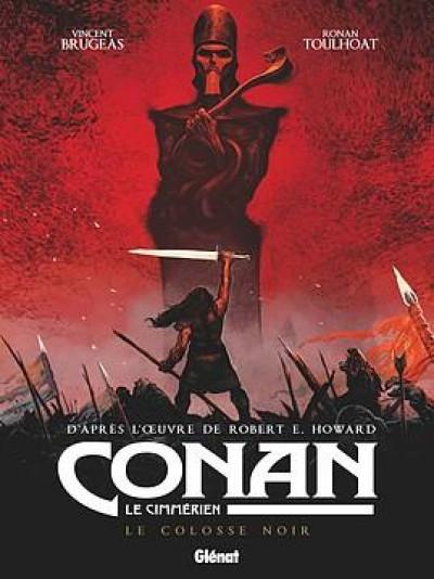 Couverture Conan le Cimmérien - Le colosse noir