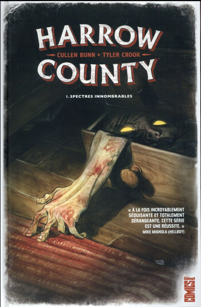 Couverture Harrow county tome 1