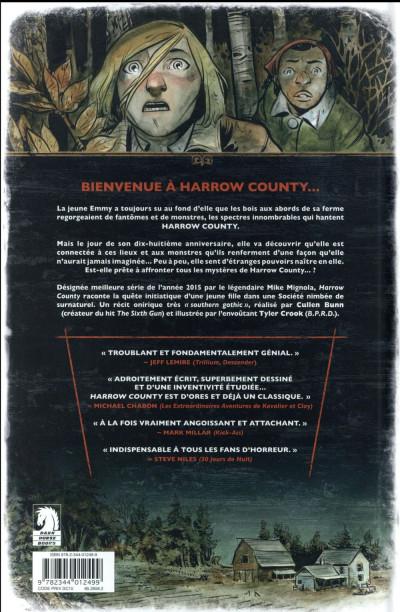 Dos Harrow county tome 1