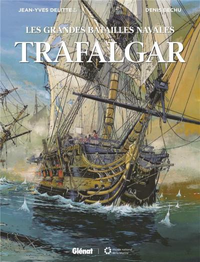 Couverture Les grandes batailles navales - Trafalgar