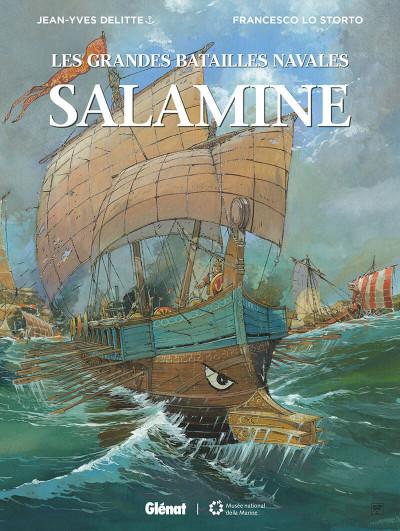 Couverture Les grandes batailles navales - Salamine