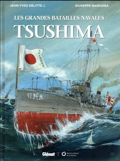 Couverture Les grandes batailles navales - Tsushima