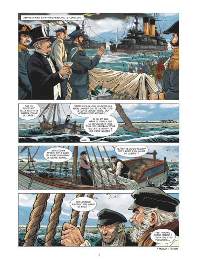 Page 1 Les grandes batailles navales - Tsushima