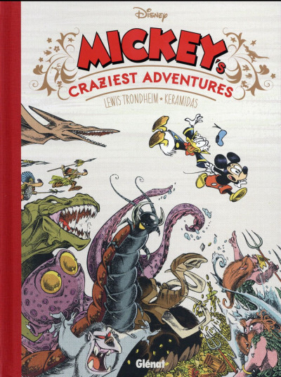 Couverture Mickey's craziest adventures