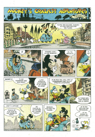 Page 1 Mickey's craziest adventures