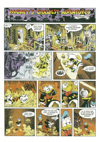 Page 3 Mickey's craziest adventures