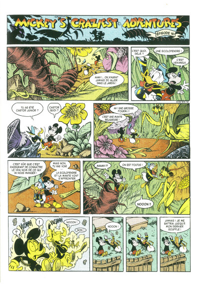 Page 5 Mickey's craziest adventures