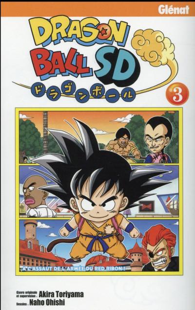 Couverture Dragon ball SD tome 3