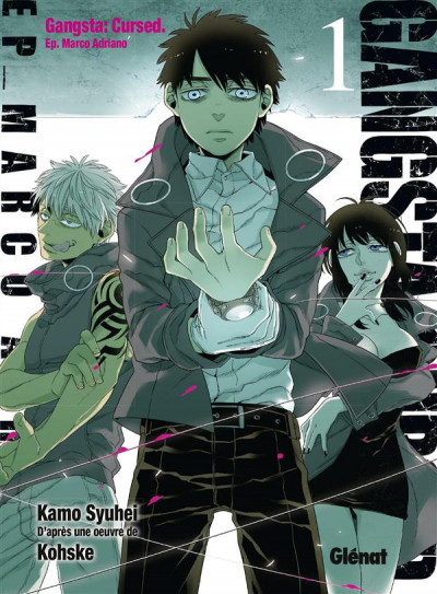 Couverture Gangsta cursed tome 1