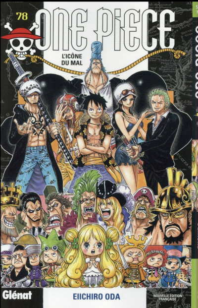Couverture One piece tome 78