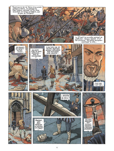 Page 9 Les guerriers de dieu tome 1