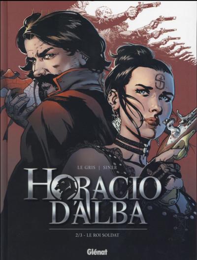 Couverture Horacio d'Alba tome 2 - édition 2016