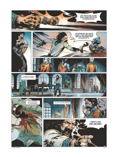Page 4 Horacio d'Alba tome 2 - édition 2016