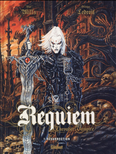 Couverture Requiem tome 1 - édition 2016