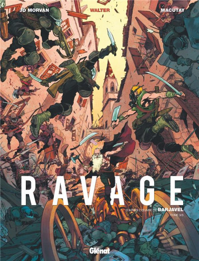 Couverture Ravage tome 3
