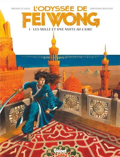 Couverture L'odyssée de Fei Wong tome 1