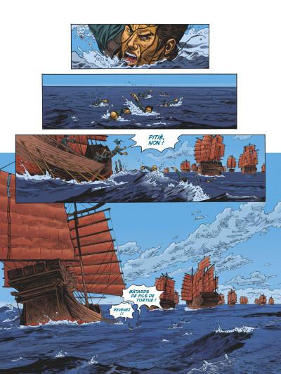 Page 1 L'odyssée de Fei Wong tome 1