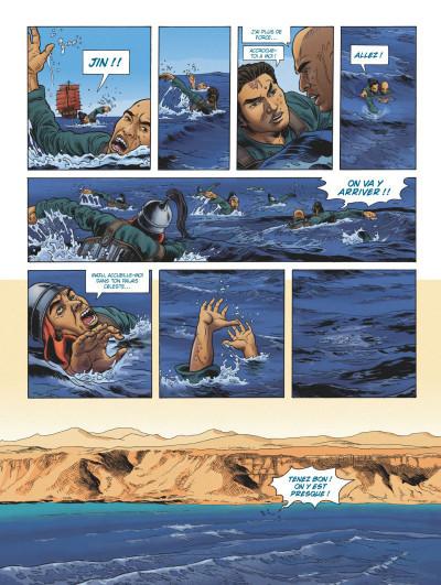 Page 2 L'odyssée de Fei Wong tome 1