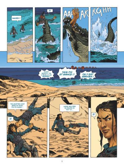 Page 3 L'odyssée de Fei Wong tome 1