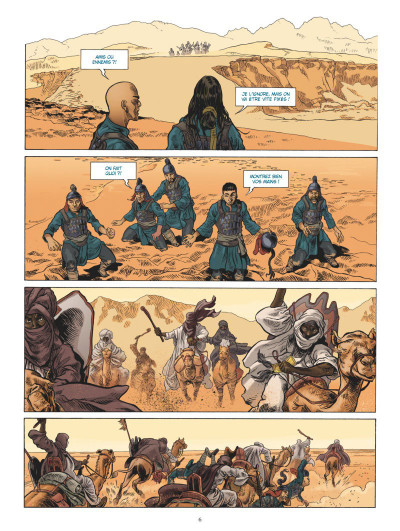 Page 4 L'odyssée de Fei Wong tome 1