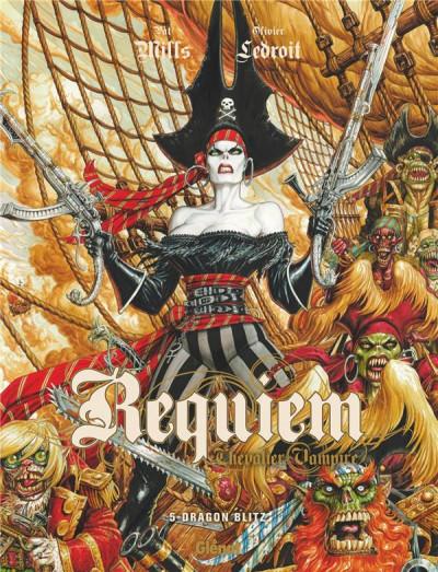 Couverture Requiem tome 5 - édition 2017
