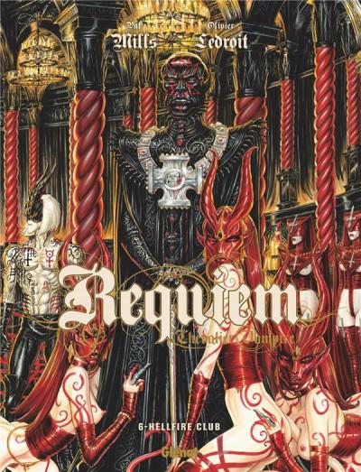 Couverture Requiem tome 6 - édition 2017