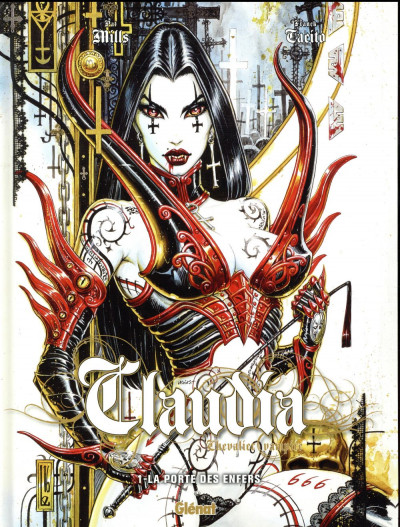 Couverture Claudia tome 1