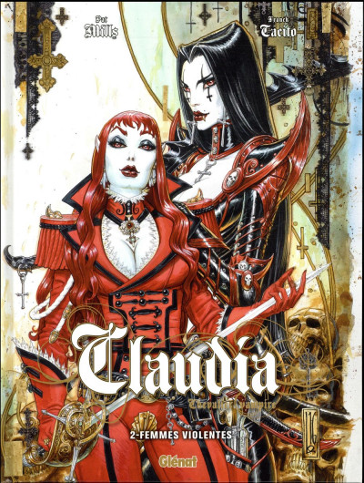 Couverture Claudia tome 2