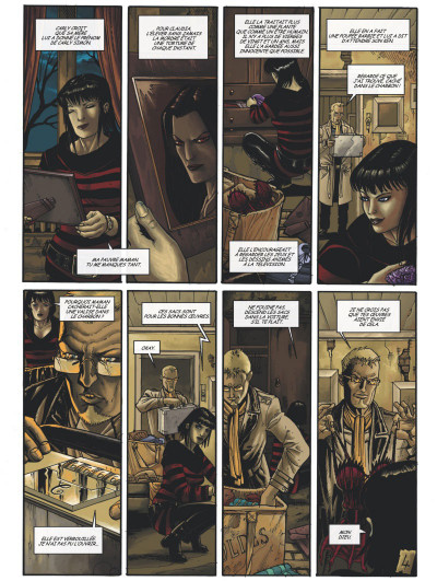 Page 2 Claudia tome 3 - opium rouge