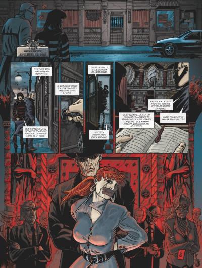 Page 1 Claudia tome 4 - La marque de la bête