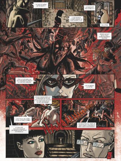 Page 3 Claudia tome 4 - La marque de la bête