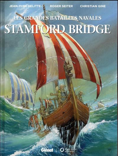 Couverture Les grandes batailles navales - Stamford bridge