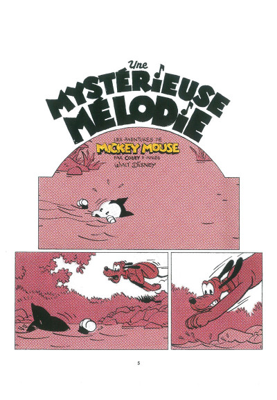 Page 1 Mickey - Une mystérieuse mélodie
