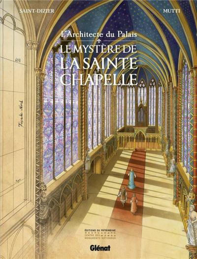 Couverture L'architecte du palais - Le mystère de la Sainte-Chapelle