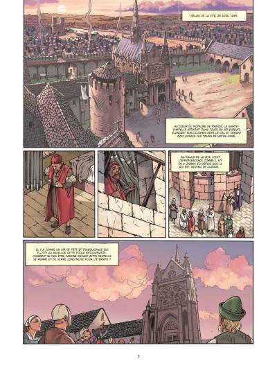 Page 1 L'architecte du palais - Le mystère de la Sainte-Chapelle