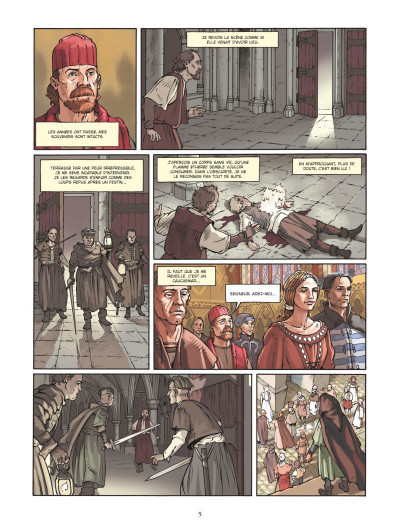 Page 3 L'architecte du palais - Le mystère de la Sainte-Chapelle