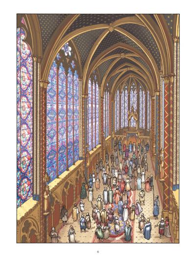 Page 4 L'architecte du palais - Le mystère de la Sainte-Chapelle