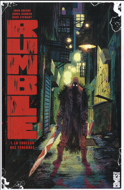 Couverture Rumble tome 1