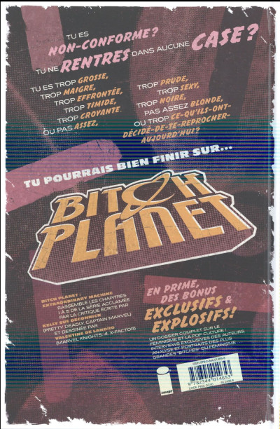 Dos Bitch planet tome 1