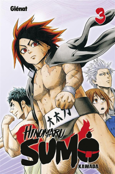 Couverture Hinomaru sumo tome 3