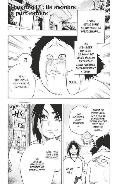Page 6 Hinomaru sumo tome 3