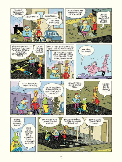 Page 5 Le corps à l'ombre