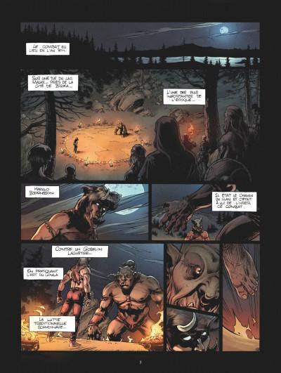 Page 1 Le chant des runes tome 2